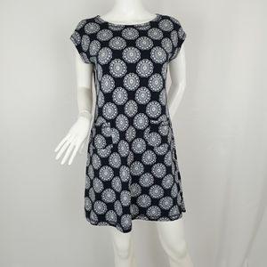 T by Talbots Print T-shirt Dress